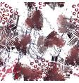 spray seamless pattern fashion concept distress vector image vector image