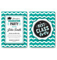 the party flyer layout vector image vector image