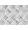 abstract background in gray tones of squares vector image