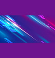 abstract speed background design vector image vector image