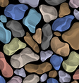 background with colorful stones vector image