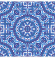 damask pattern for tiles and fabric vector image vector image