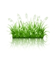 Green grass vector | Price: 3 Credits (USD $3)