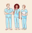 international nurse day vector image vector image