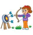 kids play theme image 6 vector image vector image