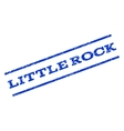 Little Rock Watermark Stamp vector image vector image