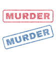 murder textile stamps
