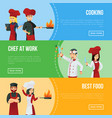 professional kitchen staff recruitment agency vector image vector image