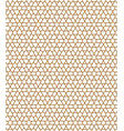 seamless geometric pattern in golden geometric vector image