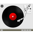 Vinyl player vector image