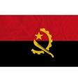 Angola paper flag vector image vector image