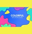 Background liquid colorful