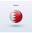 Bahrain round flag vector image