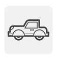 classic car icon vector image vector image