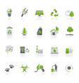 ecology environment and nature icons 2 vector image vector image