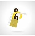 Handle door tag flat icon vector image