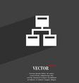 Local Network icon symbol Flat modern web design vector image vector image