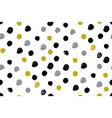 polka dot modern seamless pattern in for vector image