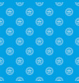sale sticker 50 percent off pattern seamless blue vector image vector image