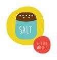 salt design vector image