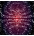 Security background with HEX-code vector image vector image