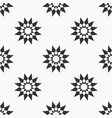 abstract seamless pattern of stars vector image vector image