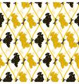 golden grape wallpaper vector image vector image