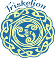 Irish Triskelion vector image