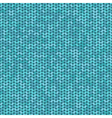 knitted seamless pattern knitting craft background vector image