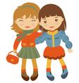 Little friends vector image vector image