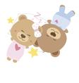 Love concept of couple teddy bear doll