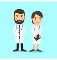 Medical doctor characters vector image