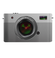 Photo camera isolated on white vector image vector image