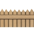 wood material fence icon graphic vector image vector image