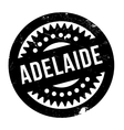 Adelaide rubber stamp vector image vector image
