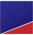american flag symbols background vector image
