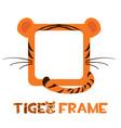avatar frame tiger square animal template