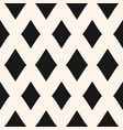 big diamonds seamless pattern rhombuses geometric vector image vector image