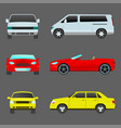 car vehicle transport type design travel race vector image