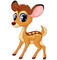 Cartoon deer vector image vector image