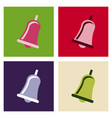 christmas bells church bell - school bell icon vector image vector image