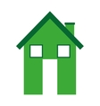 house silhouette real estate icon vector image