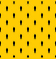 ice cream in waffle cone pattern vector image