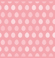 tender pink pattern with easter eggs vector image