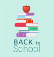 back to school and education vector image vector image