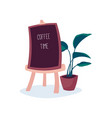 best coffee every morning vector image vector image