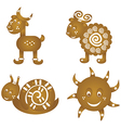Cookies ginger breads vector image
