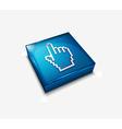 hand cursor web icon vector image vector image