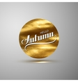 Hello Autumn Seasonal vector image vector image