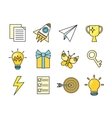 Idea Generation Icon Set vector image